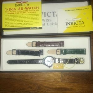 Invicta Accessories - Women INVICTA SWISS LIMITED EDITION WATCH